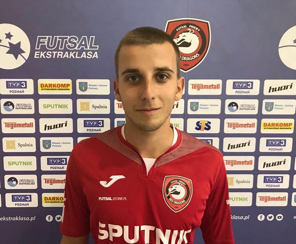 Wojciech Bukowy dołączył do Red Dragons